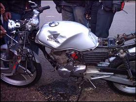 laka sepeda motor